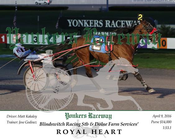 20160409 Race 2- Royal Heart