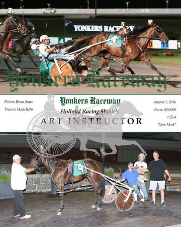 20160801 Race 8- Art Instructor