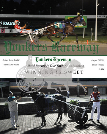 20160826 Race 3- Winning Is Sweet