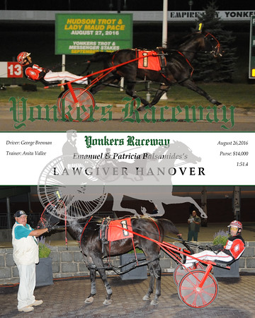 20160826 Race 5- Lawgiver Hanover