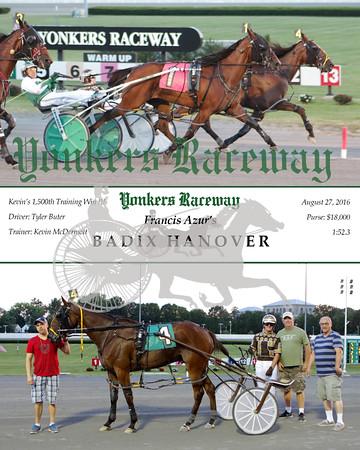 20160827 Race 1- Badix Hanover