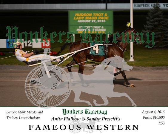 20160804 Race 7- Fameous Western