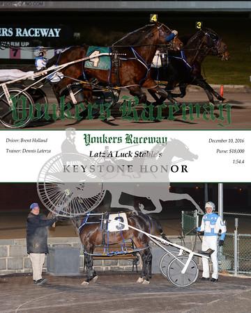 20161210 Race 5- Keystone Honor