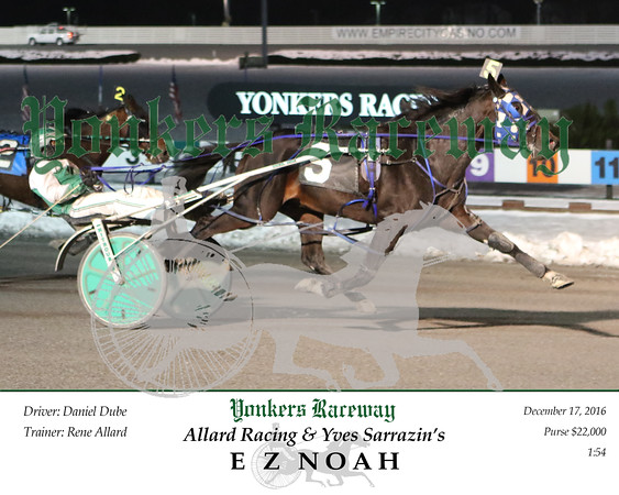 20161217 Race 10- E Z Noah