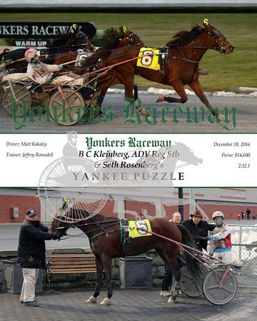 20161218 Race 5- Yankee Puzzle
