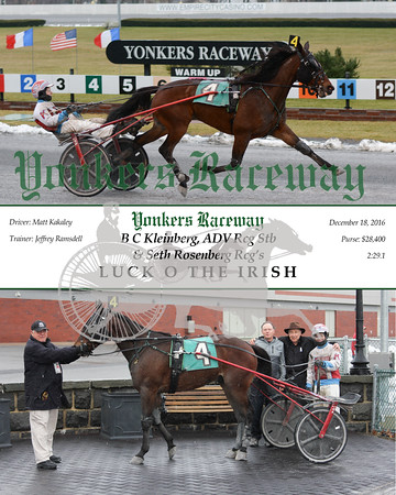 20161218 Race 2- Luck O The Irish