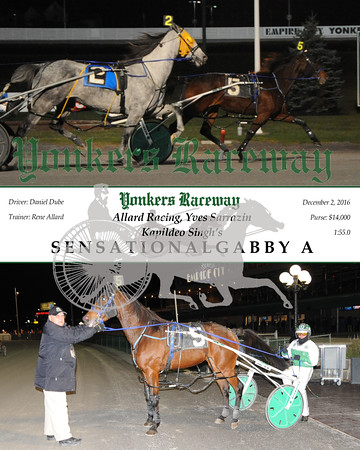 20161202 Race 6-Sensationalgabby A