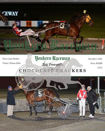 20161203 Race 2- Chocolate Crackers