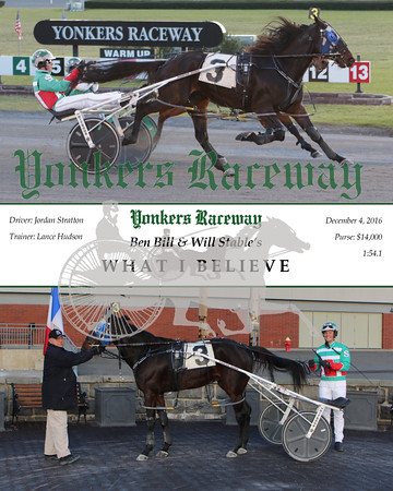 20161204 Race 9- What I Believe
