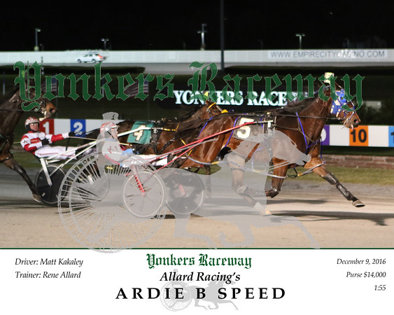 20161209 Race 6- Ardie B Speed