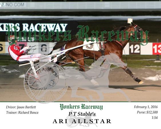 20160201 Race 7- Ari Allstar