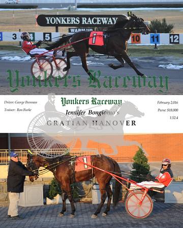 02022016 Race 12-Gratian Hanover