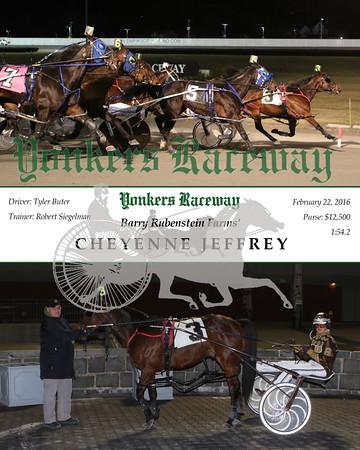 20160222 Race 4- Cheyenne Jeffrey