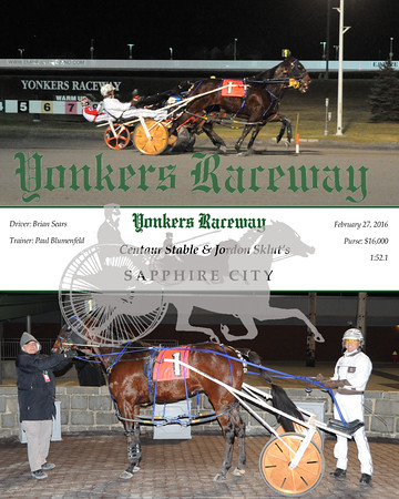 20160227 Race 10- Sapphire City