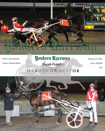 20160227 Race 1- Hardts or Bettor