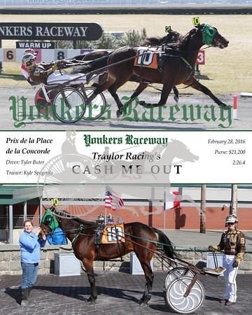 20160228 Race 2- Cash Me Out