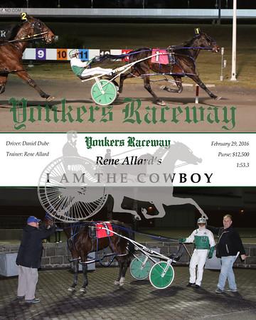 20160229 Race 7- I Am The Cowboy 2