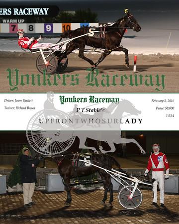 20160205 Race 1- Upfrontwhosurlady
