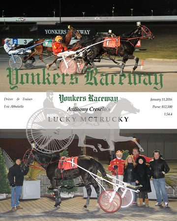 01112016 Race 9-Lucky McTrucky