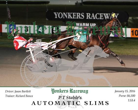 20160115 Race 5- Automatic Slims