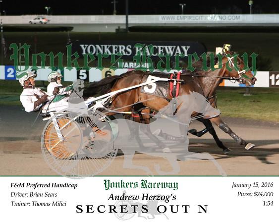 20160115 Race 6- Secrets Out N