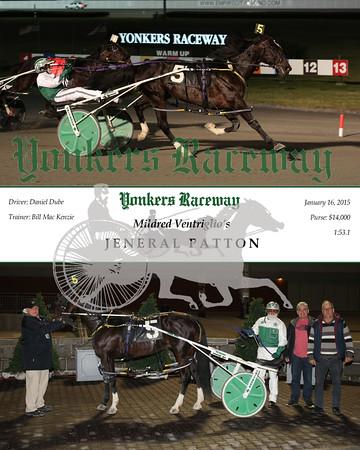 20160116 Race 4- Jeneral Patton