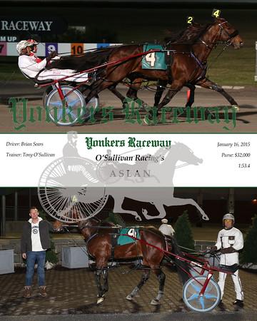 20160116 Race 6- Aslan