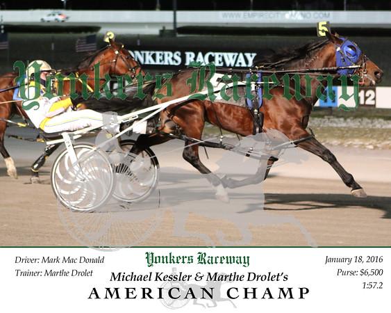 20160118 Race 1- American Champ 2