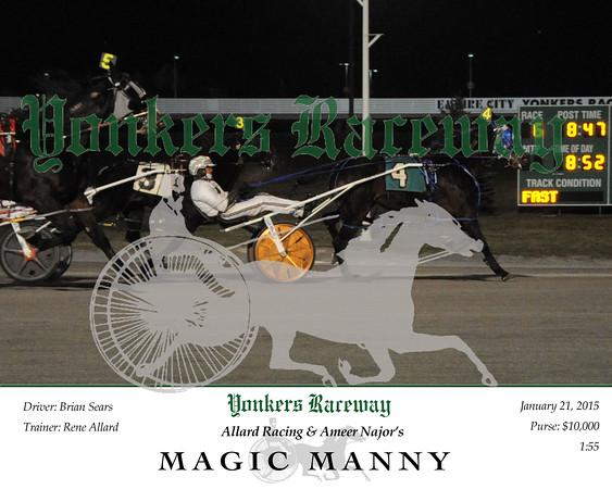 20160121 Race 6- Magic Manny