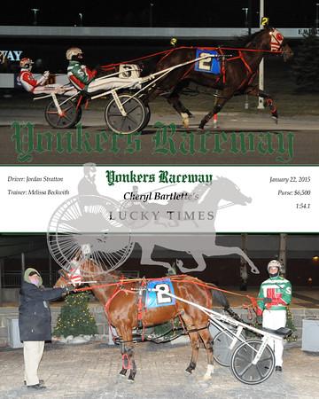 20160122 Race 1- Lucky Times