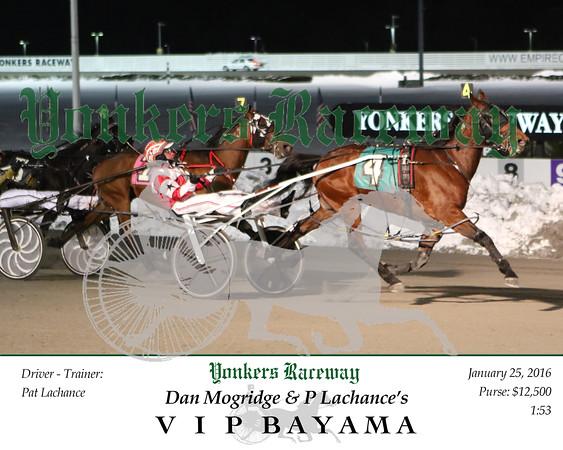 20160125 Race 7- V I P Bayama