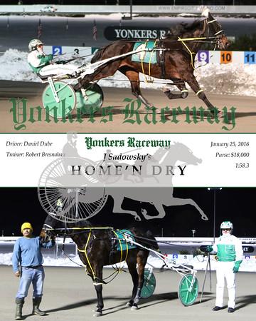 20160125 Race 11- Home'n Dry