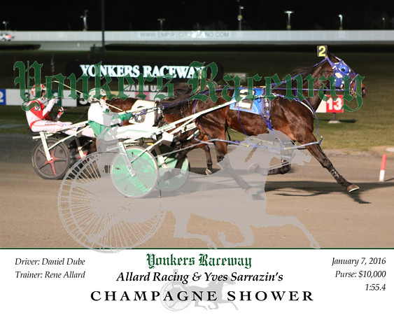 20160107 Race 4- Champagne Shower