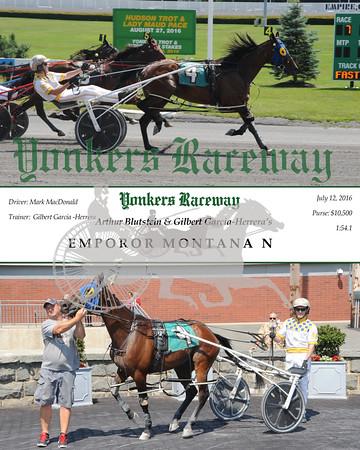 07122016 Race 7-Emperor Montana N