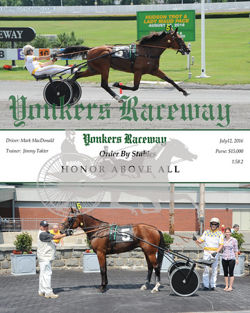 07122016 Race 6-Honor Above All