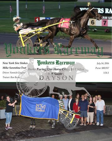 20160714 Race 5- Dayson