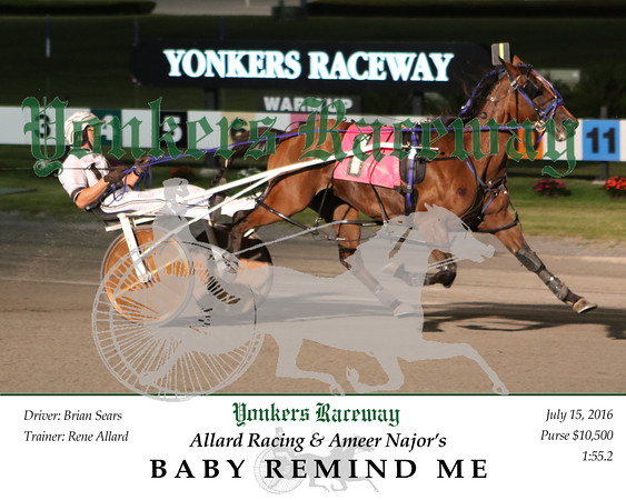 20160721 Race 7- Baby Remind Me