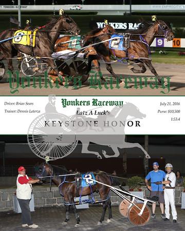 20160721 Race 6- Keystone Honor