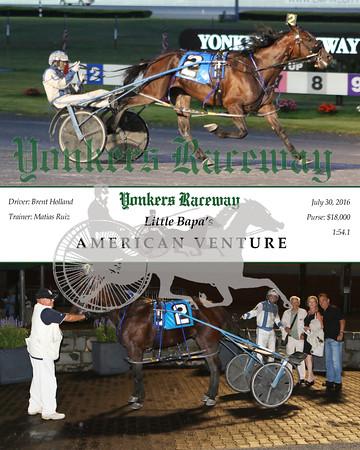 20160730 Race 4- American Venture