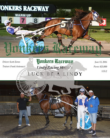 20160613 Race 10- Luck Be A Lindy