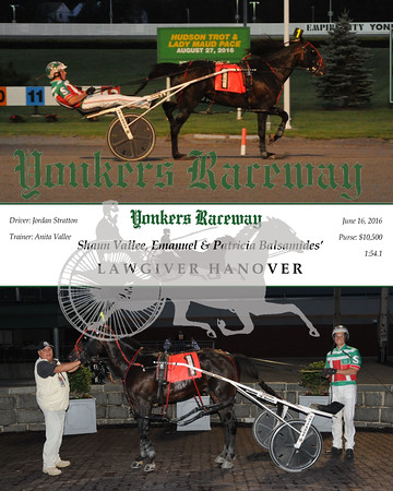06162016 Race 5- Lawgiver Hanover