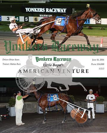 20160617 Race 8- American Venture