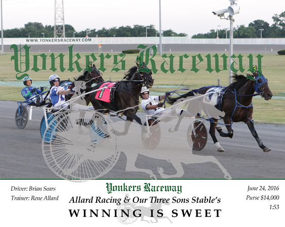 20160624 Race 3- Winning Is Sweet