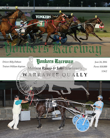 20160624 Race 5- Warrawee Qually