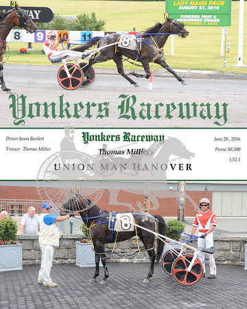 06282016 Race 5-Union Man Hanover
