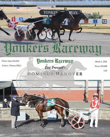 03012016 Race 8-Dominus Hanover