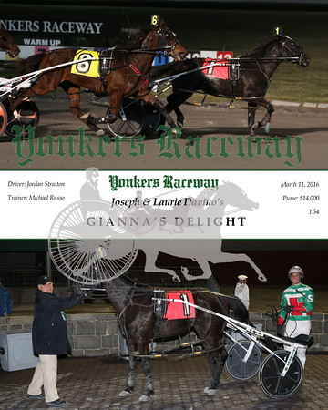 20150311 Race 9- Gianna's Delight