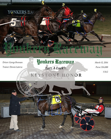 20160312 Race 11- Keystone Honor
