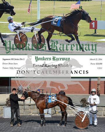 20160322 Race 7- Don'tCallMeFrancis