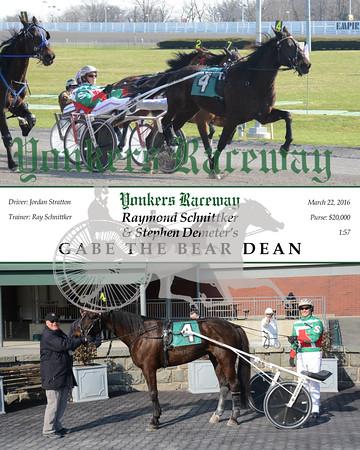 20160322 Race 11- Gabe The Bear Dean